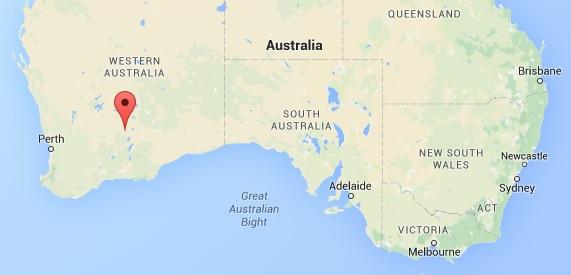 Kalgoorlie-map