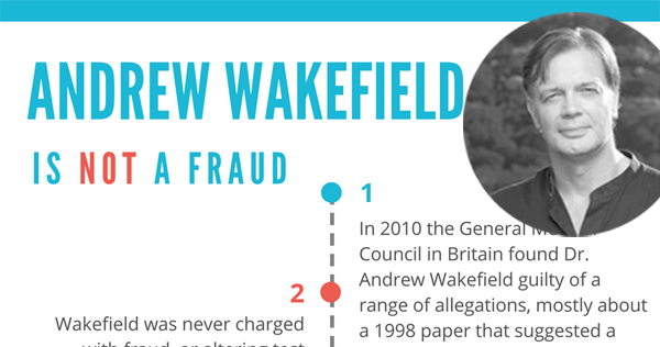 andrew wakefield is not a fraud